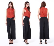wholesale price fashion women plus size palazzo pants