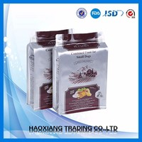 Custom printed coffee packing bag with valve/laminated multiple layer plastic aluminum foil