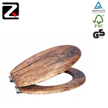 Factory supply wooden bidet toilet seat cover