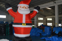 Christmas inflatable decoration, christmas inflatable, inflatable Santa Claus for advertising
