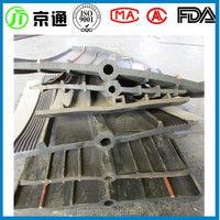 China Jingtong factory water swelling rubber waterstop for construction concrete joint
