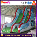 Hot sale pvc material commercial inflatable frozen slide for kids
