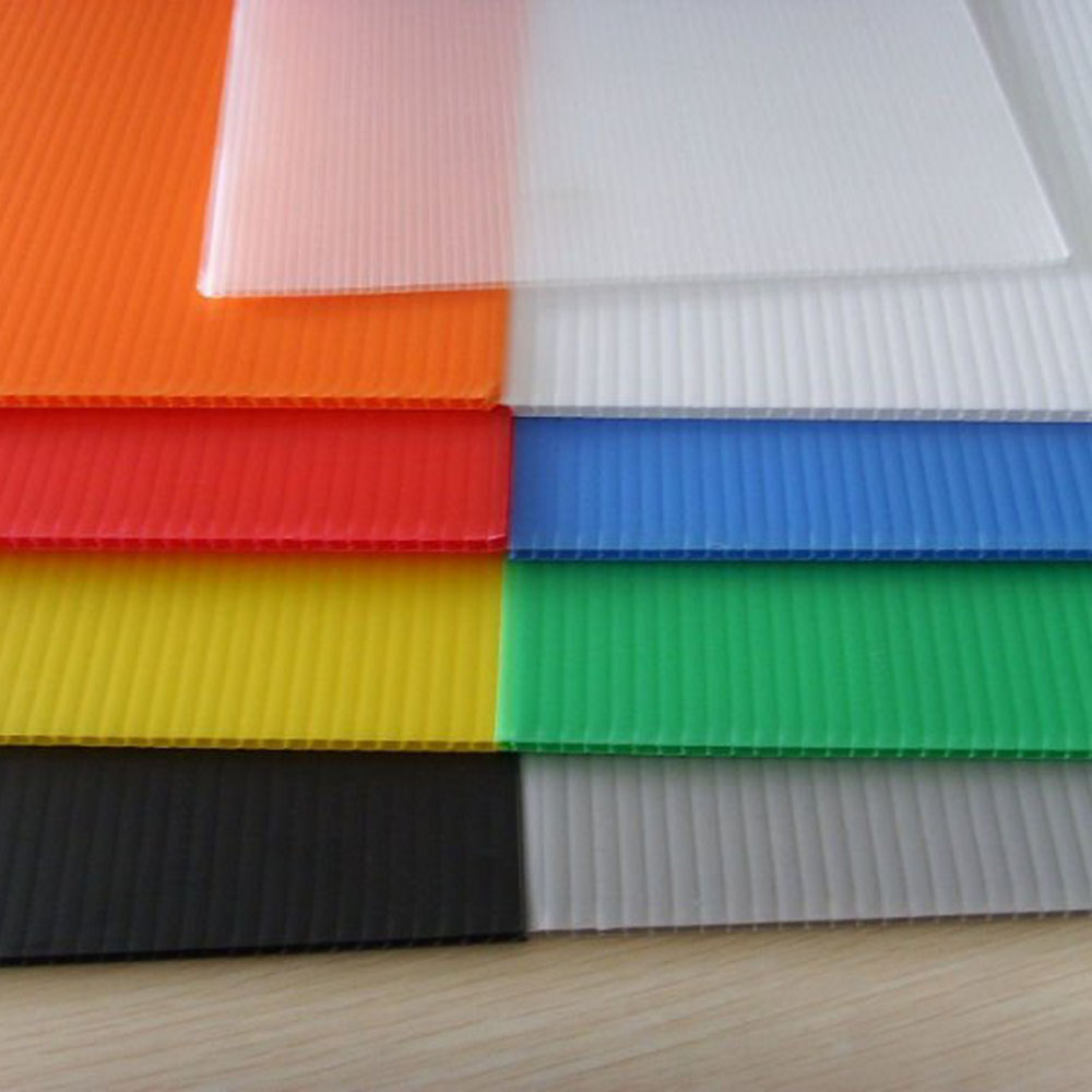 Hot sale high quality Polypropylene Plastic Coroplast <strong>Sheet</strong> supplier