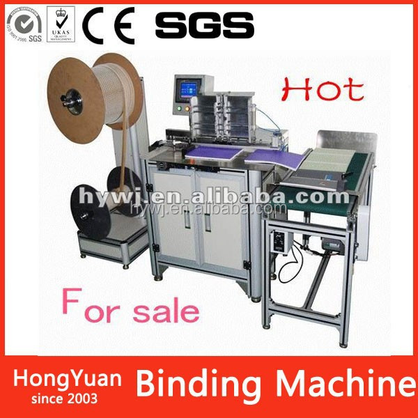 DWC-520A Office Equipment automatic double wire binding machine