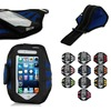 BRG Fitting Sports Universal Running Armband with Build in Screen Protect Case Cover Running Band Stylish For iPhone 5S