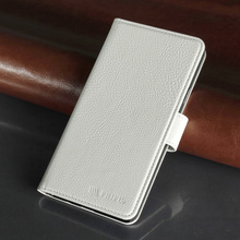 The Newest White Color Leather Flip with Stand Cover Case for Samsung A7