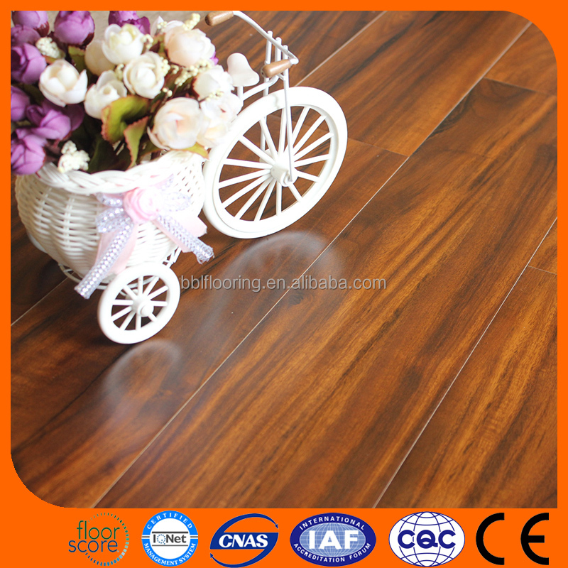 12mm German technology Arc Click laminate Handscraped flooring