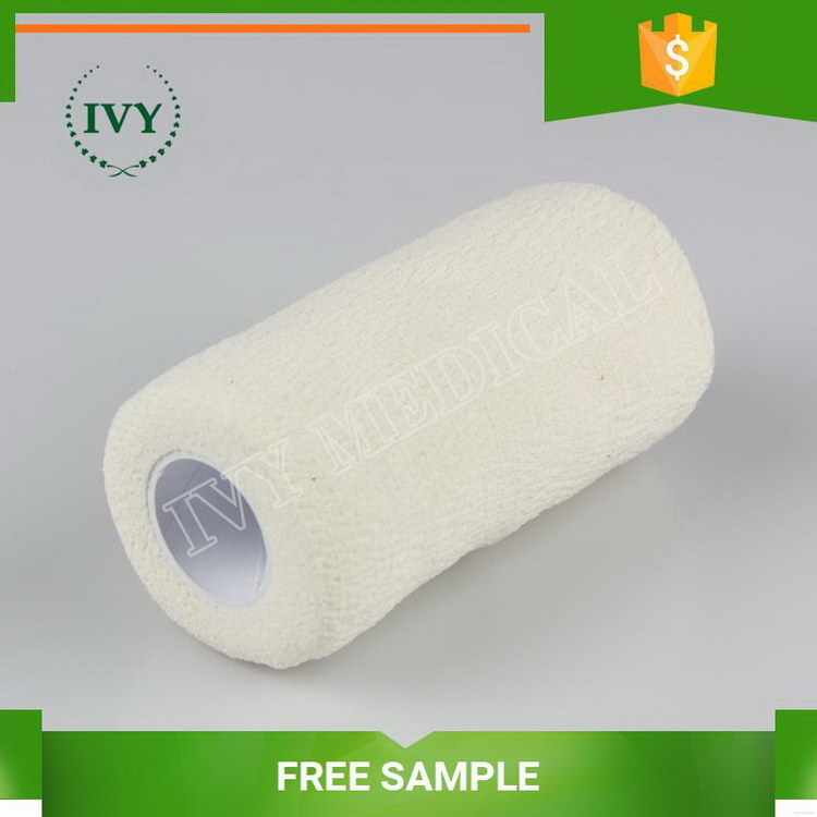 Durable Cheapest herringbone self sticky elastic bandage