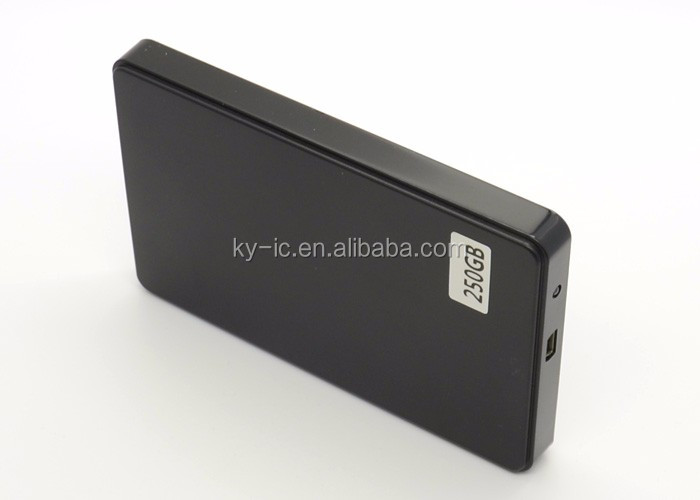 "2.5"" USB Custom HDD Portable 250GB External Hard Drive Laptop"
