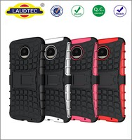 hybrid rugged bumper case back cover for motorola moto z force