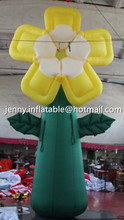 wedding stage decoration/party decoration/stage decoration inflatable flower