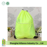 Casual Waterproof Drawstring Backpack Schoolbag Storage Reusable Shopping Bags