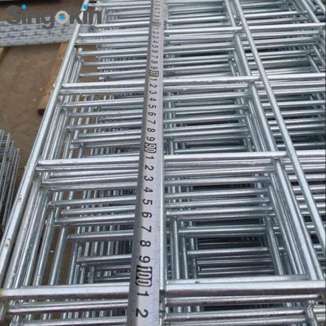 10ft x 4ft x 8 gauge galvanized welded wire mesh panels with 2inch x 4 inch opening for tabletops