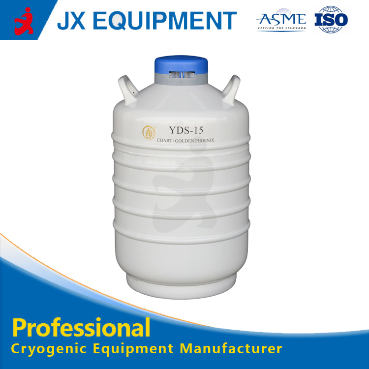 YDS Series Cell biology used liquid nitrogen cryogenic tank container