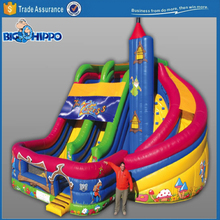 Magic tower inflatable vivid colorful top quality slide