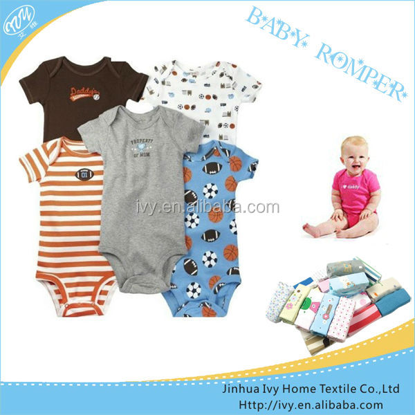 5pcs/pack Fashion Kids Modeling His and Hers Clothes Knitted Bodysuit