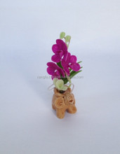 Miniature clay flower