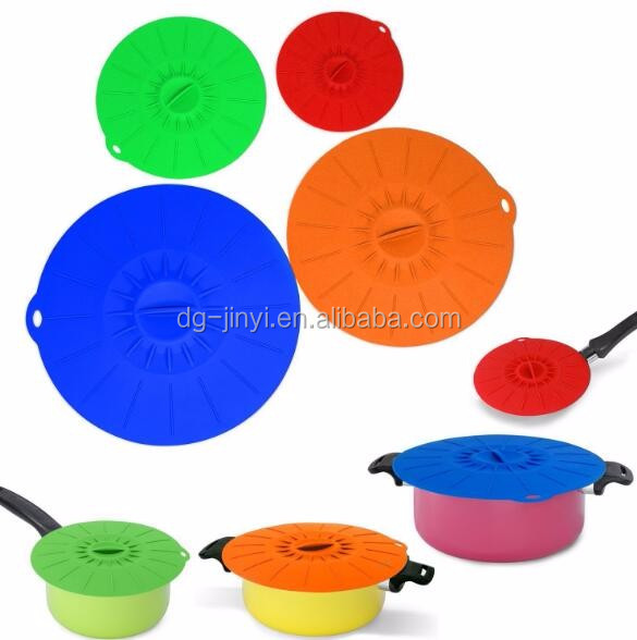 Cookware parts silicone pot lid wholesale silicone pot cover lids