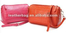 Oem crocodile leather sling bag ladies