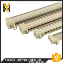 Newest selling durable fast moving wall mount curtain track