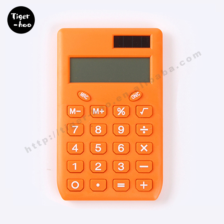 Fancy promotional cheap mini calculator,financial graphing calculator,square citizen calculator