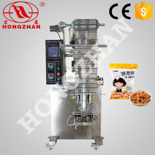 Zhejiang Hongzhan HP100G rice snack cereal candy automatic 1kg sugar packing machine