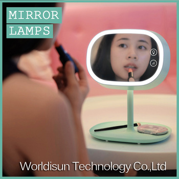 Multifunctional LED Light portable Table lamp with high quality/Fashionable Professional Cosmetic Makeup Mirror