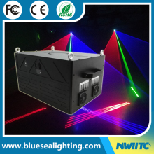 Factory price disco dj stage 5w rgb multi color beam animation laser light