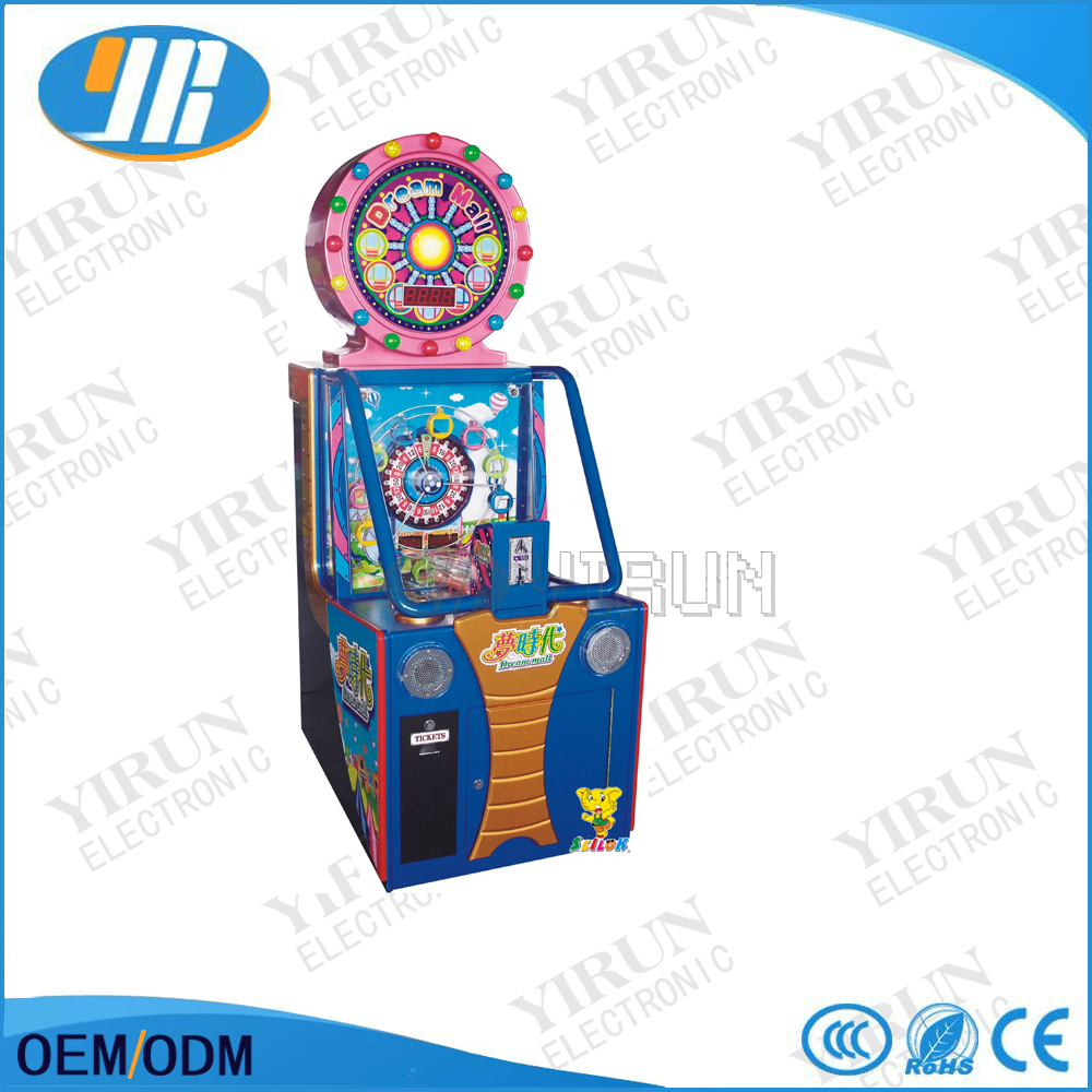 Dream time mini arcade amusement lottery game machine sale
