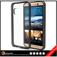 Keno Factory Price for HTC One M9 Mobile Phone Case, Transparent Soft TPU Clear Case for HTC M9