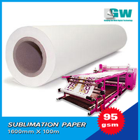 sublimation heat transfer paper roll/calor sublimacao rolo de papel de transferencia