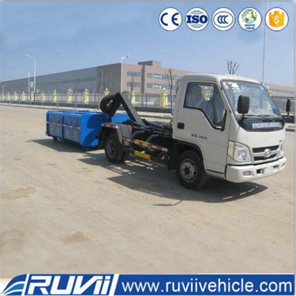 Hook lift small garbage truck for sale