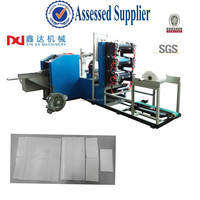 Full automatic high speed table napkin tissue paper equipment machinery