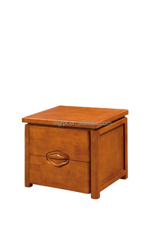 Modern solid wood bedroom furniture bedside table design 8152