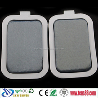 Silicon rubber water absorption heating electrode