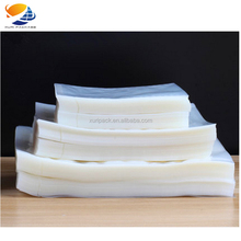 Clear nylon food grade vacuum plastic packaging bag for frozen chicken fish meat co-extrusion heat seal plastic food vacuum bag