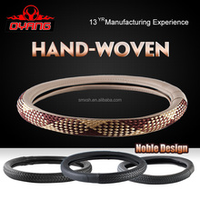 H-002 14 inch good price car steering wheel covers channel steering wheel cover