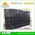 2018 Latest pv panels, 265W 270w poly glass-glass Solar Panel PV module for solar system PID free long life