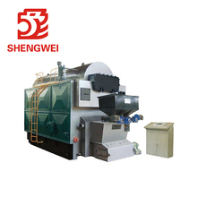 Automatic Biomass Pellet Sugar Cane Bagasse Fired Steam Boiler