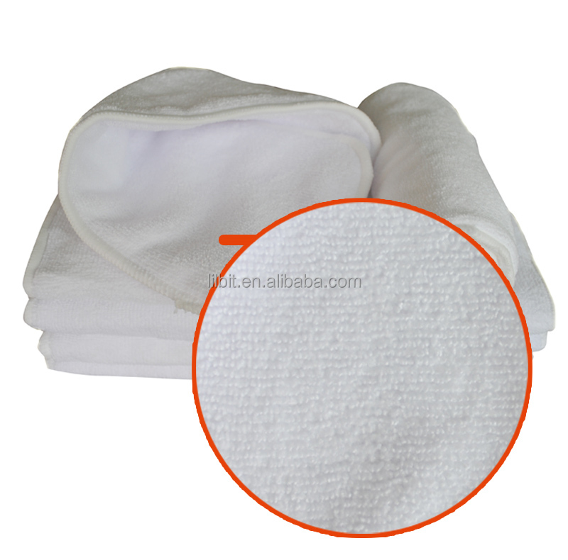 3 Layers Reusable Breathable Microfiber Cloth Baby Diaper Insert