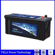 VELA Brand car battery manufacturer N120 12v 120ah with CE ,ROHS ,ISO