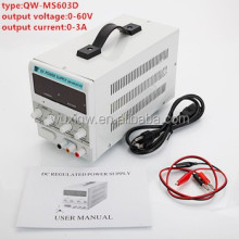 adjustable switch mode DC power supply 60V 3A