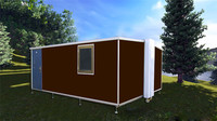 efficient new design Luxury fold container house for mining camp