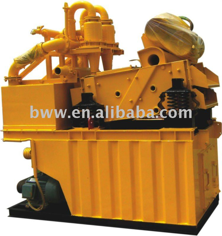 ZX-50 mud recycling system for tunnel boring machinery.