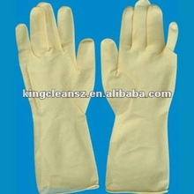 chemical-resisted latex gloves in bulk