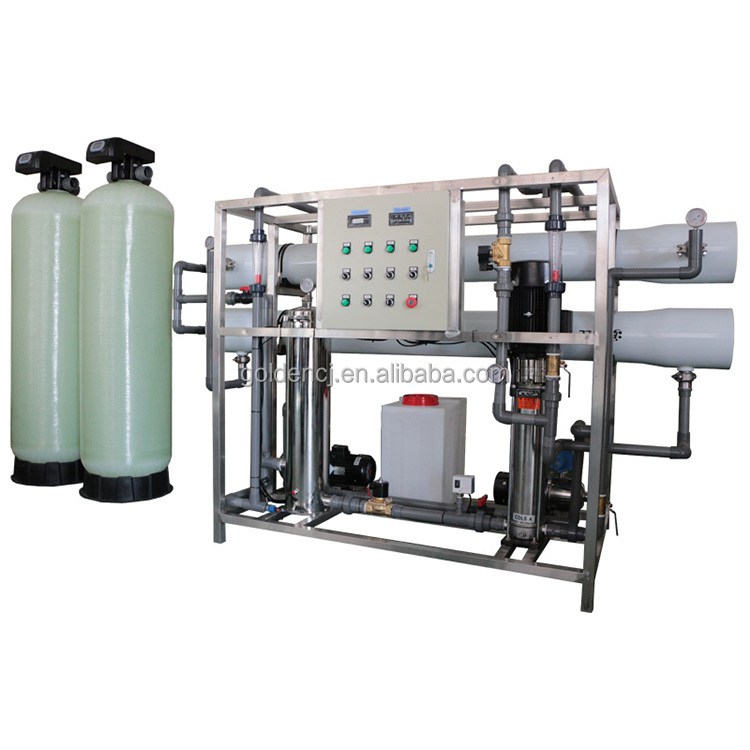 0.5-50T industrial RO water purification <strong>systems</strong> Reverse Osmosis Water plant price