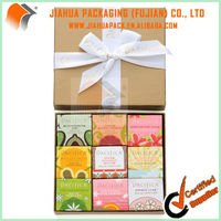 kraft paper gift box for solid perfume