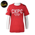 Manufacturer OEM Service Cotton Red Plain T Shirt