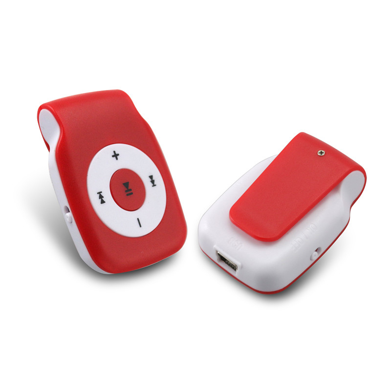 factory OEM/ODM mini mp3 player with clip memory card MP3 player for gift promotion