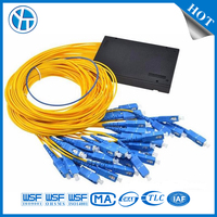 Telecommunication FTTH SM 1 32 Optical